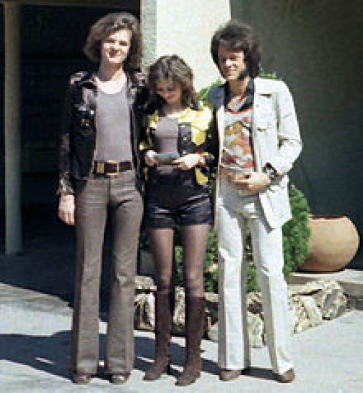 Hot pants and bell bottoms