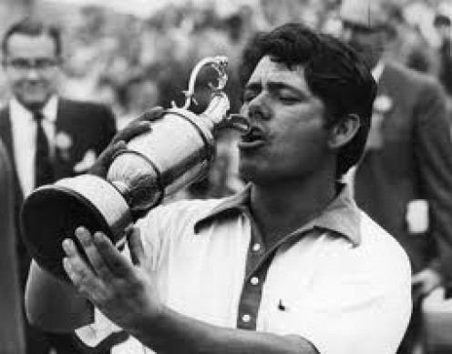 Lee Trevino was inducted into the Golf Hall of Fame in 1981. He always put his all into the game of Golf.