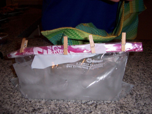 A major problem with zip lock bags for ice therapy is that the bags can leak interrupting your treatment routine.