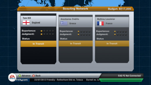 Scouts in fifa 13 poor scouts beginner level scouts in fifa 13