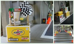 Race Car Themed Decor