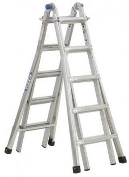 Werner MT-22 300-Pound Duty Rating Telescoping Multi-Ladder