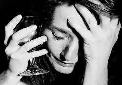 Hangover - The dreadful feeling is because you are suffering from the effects of alcoholic poisoning.