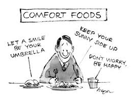 Comfort foods are so comforting.