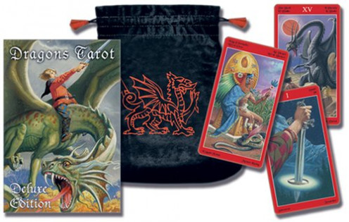Dragons Tarot by Lo Scarabeo. This is the Deluxe version of the Tarot Cards deck