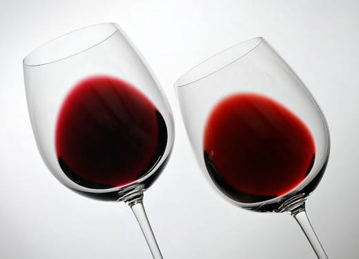 Red wine is good for you but which the calories