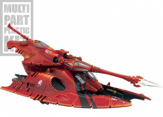 New Eldar Codex Review 6th edition Fire Prism