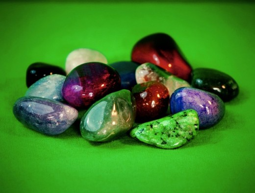 Gemstones are great cheap witchcraft supplies that can be used for protection, focus, and spells.