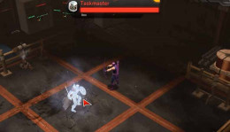 Marvel Heroes Use Hawkeye low level powers to defeat the Taskmaster. Freeze the taskmaster's lectures and teach him a lesson.