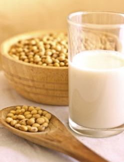 Soy products may prevent nausea.