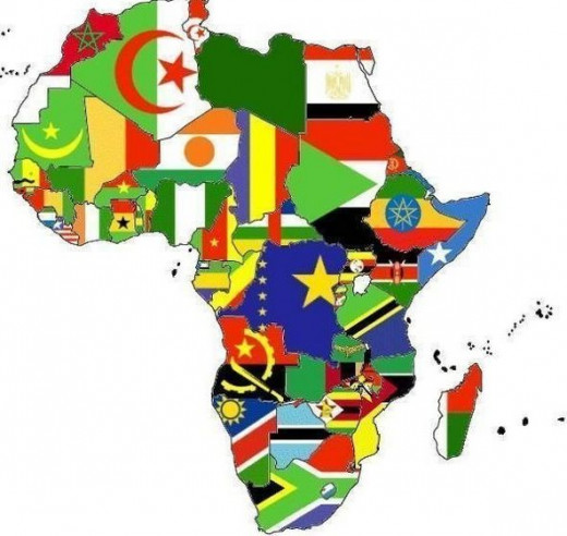 All the flags of Africa