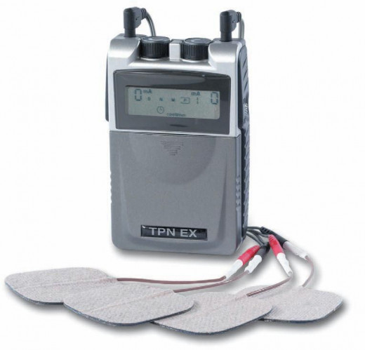 TENS machine to relieve pain
