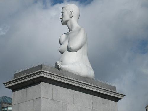 Alison Lapper's Statue by Marc Quinn
