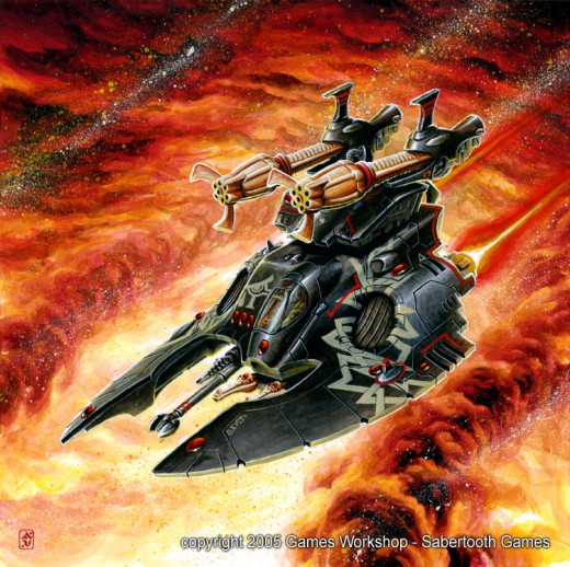 New Eldar Codex Review 6th Edition Night Spinner