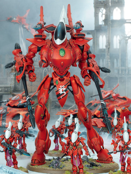 New Eldar Codex Review 6th Edition Wraithknight