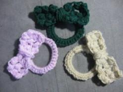 Free Crochet Hair Scrunchie Patterns