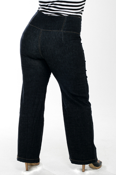"""ed75c8ef674 Throw Away Your """"fat"""" Jeans and Get Plus Size Jeans That Fit Your ..."""