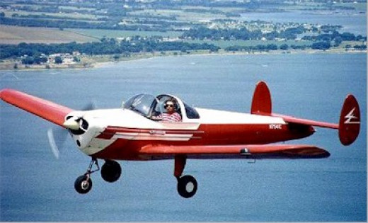 This Fourney F1 Aircoupe was used in the Forney Marketing brochures after it was converted at the factory with rudder pedals