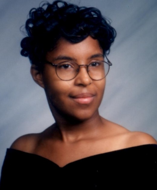 My High School Photo: Before my life truly began.