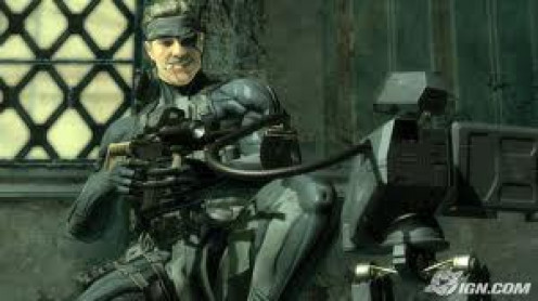 Metal Gear Solid 4 is one of the best military games ever made. The graphics and sound effects are top notch and the weapons are high tech.