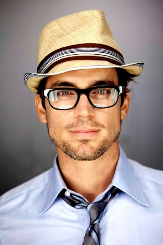 He looks smart and hot!