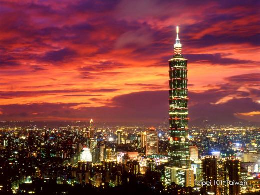 Taipei 101 - Unbelievable view