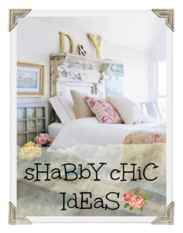 """This is a creative commons image that I added """"Shabby Chic Ideas"""" to for my hub on decorating bedrooms in Shabby Chic style. I expect this image to get a lot of pins. The font is light and matches the topic."""