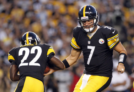 Roethlisberger needs help from the running game