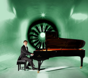 Dominic Piers Smith, a finalist in the Van Cliburn International Piano Competition