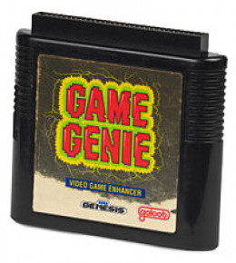 Sega Genesis game genie, the most normal looking of the bunch