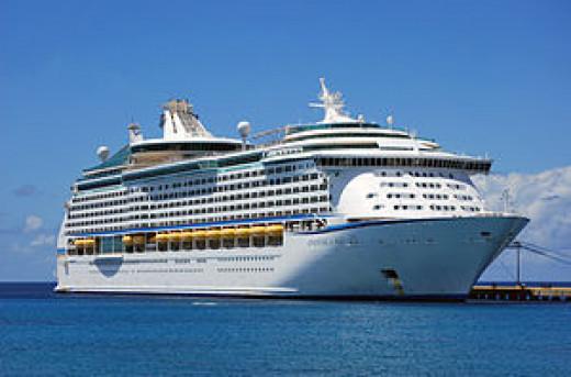 Royal Caribbean MS Adventure of the Seas.