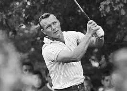 Arnold Palmer is a legendary Golfer and sportsman period. He has had video games. toys and other merchandise made based on his likeness.