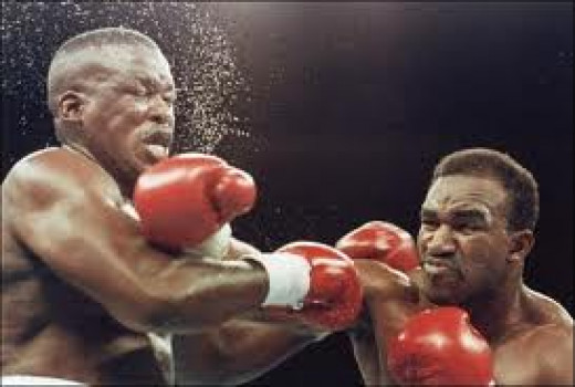 "Evander"" The Real Deal"" Holyfield knocked out James""Buster""Douglas in three rounds to become the Heavyweight champion of the world in 1990."