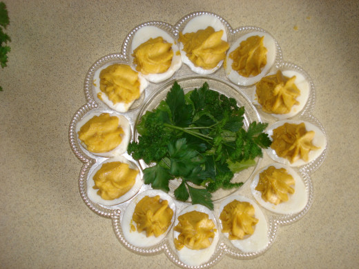 Curried Eggs, Ready to Serve