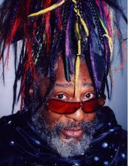 George Clinton from Parliament Funkadelic is a wild character with unique stage shows and he was a great entertainer.
