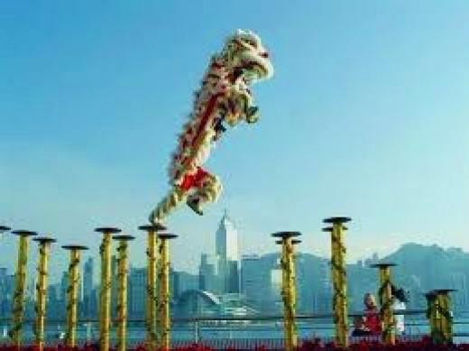 Lion Dancing Pole Pole Lion Dance Pin it