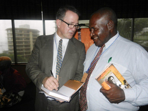 Sir. Ebia Olewale's book launched
