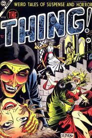 A Ditko cover for Charlton comics.