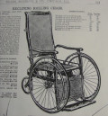 Some Antique Wheelchairs from Sears, Roebuck & Company