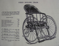 Sears No. 14066 Fixed Rolling Chair, 1905