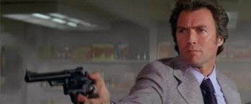 The Enforcer stars Clint Eastwood as Dirty Harry Callahan. This movie is truly a classic.