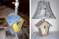 Decoupage and Antique a Thrift Shop Lamp: Cheap Decorating Craft