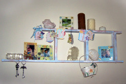 DIY Shabby Chic Decorative Wall Hanging
