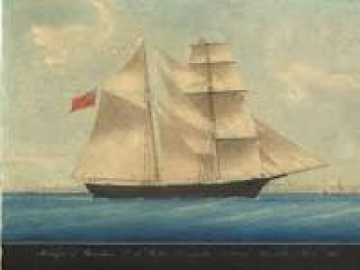 The Marie Celeste.
