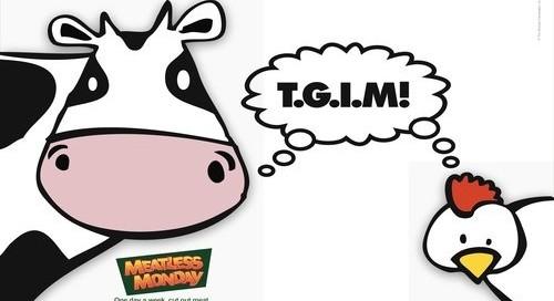 Meatless Monday Advertisement