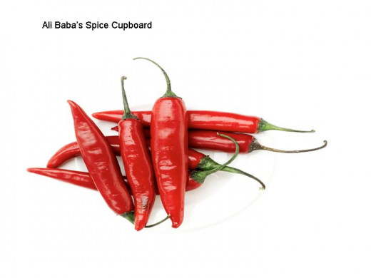 Chillies from Ali Baba's spice cupboard