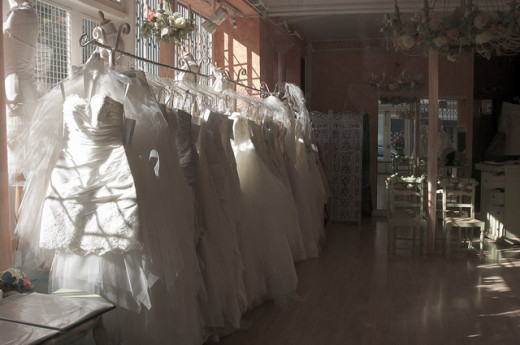 What Bridal Shops Provide