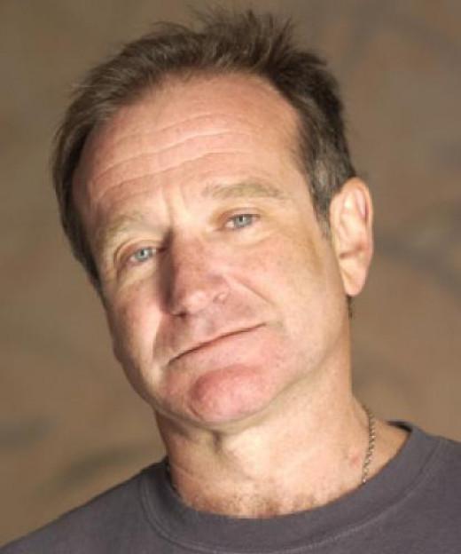 (7) Robin Williams, prodigious actor/comedian.