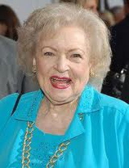 (8) Betty White, iconic television legend.