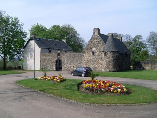 Provan Hall, Glasgow - this is one of the oldest buildings in the city of Glasgow and also one of the most haunted.